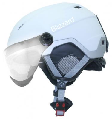 18069f709 Helma Blizzard Viva Double Visor white matt/silver mirror