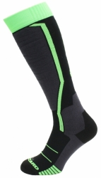 Ponožky Blizzard Allround Ski Socks black/antracite/green