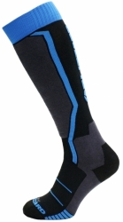 Ponožky Blizzard Allround Ski Socks black/antracite/blue