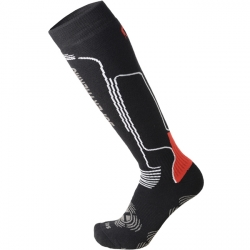 Ponožky Mico Heavy Weight Superthermo Primaloft Ski Socks Nero Rosso